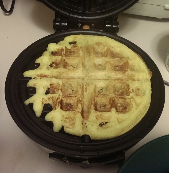 Cornbread on the Waffle Iron
