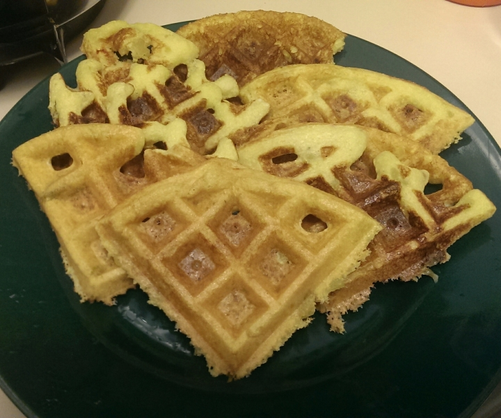 Corn Muffin Waffles